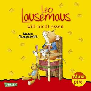 Maxi-Pixi 106: Leo Lausemaus will nicht essen (2012, Taschenbuch)