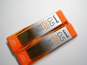 (Tracking No.)UNI-BALL Nano Dia 0.5mm pencil leads (2B X 3 tube)