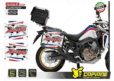 Gray KIT 2 PROTEZIONI ADESIVE VALIGIE HONDA AFRICA TWIN ADVENTURE SPORTS VHA-003