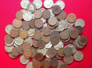 Classic-Old-U-S-Coin-Estate-Lot-Indian-Head-Penny-Liberty-Buffalo-Nickel