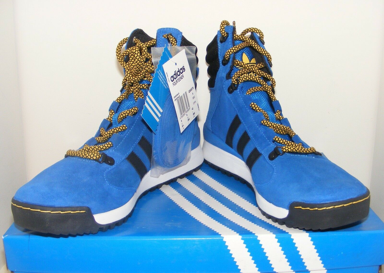 ADIDAS Originals FOURTEENER All Suede Hiking Walking Stiefel UK 8 2011 Rare BNIB