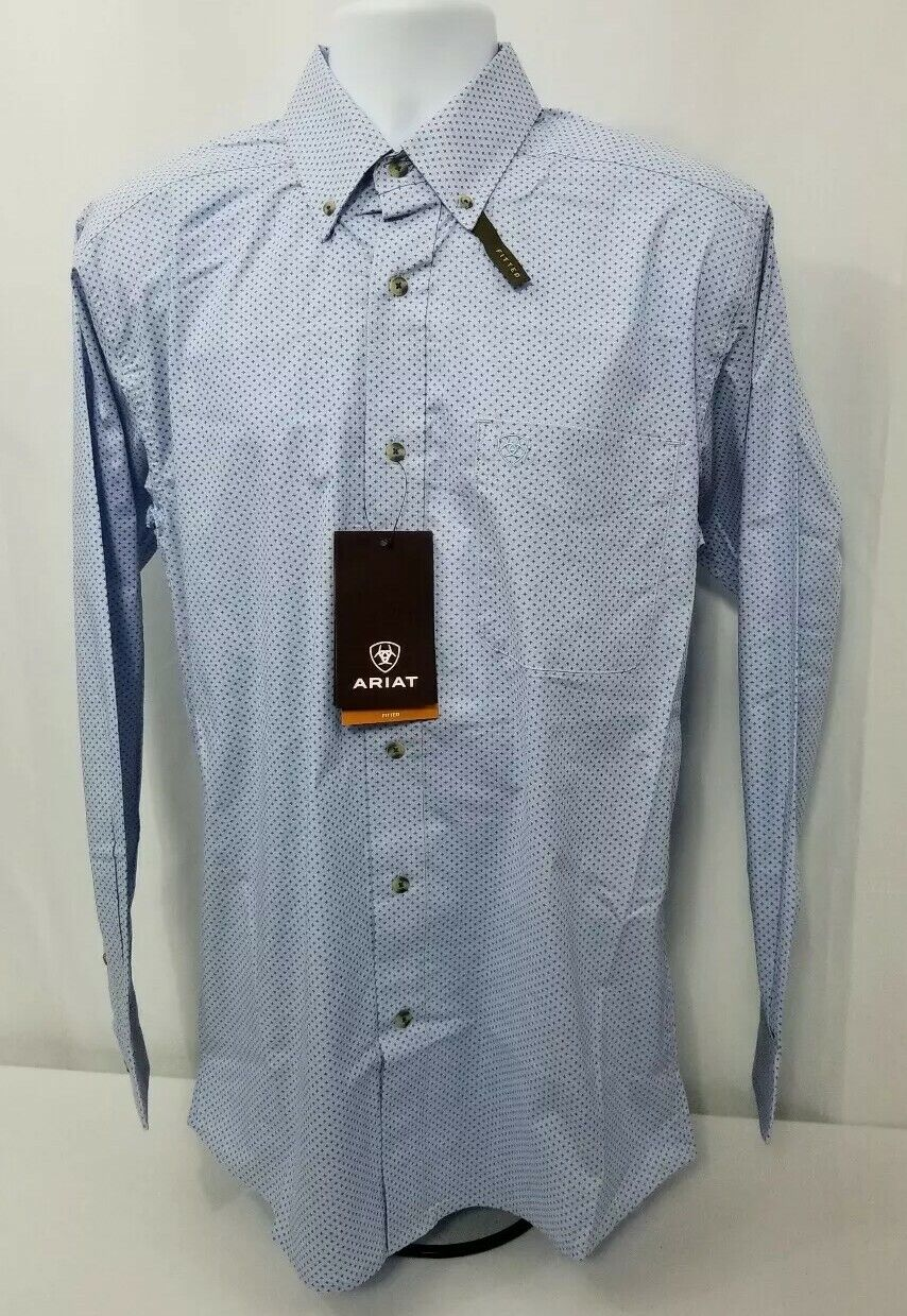 Ariat Miley Long Sleeve Western Shirt. Mens size MEDIUM. Fitted.