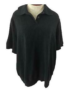 Alfred-Dunner-Woman-knit-top-size-3X-floral-black-collar-short-sleeves