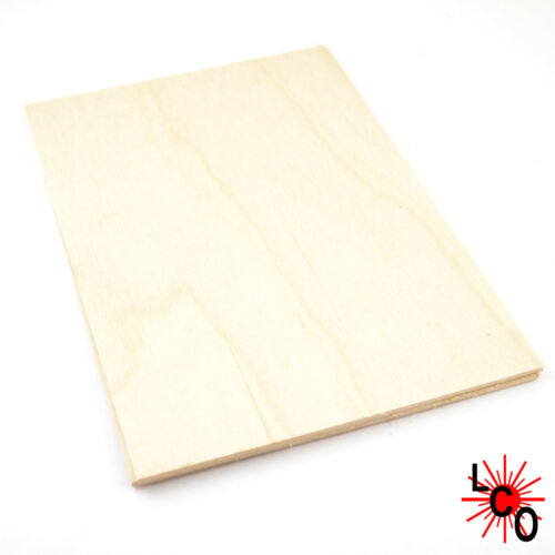 Birch Plywood A5 Sheet 25 pack for crafting lasering fretwork scrollsaw