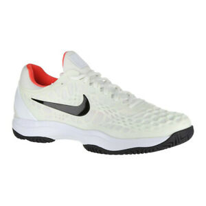 Details about Nike Air Zoom Cage 3 HC (WhiteBlackCrimson) Men's Tenins Shoes