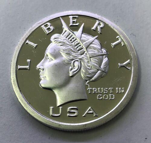 2006 1 OZ .999 $20 Liberty Silver Round