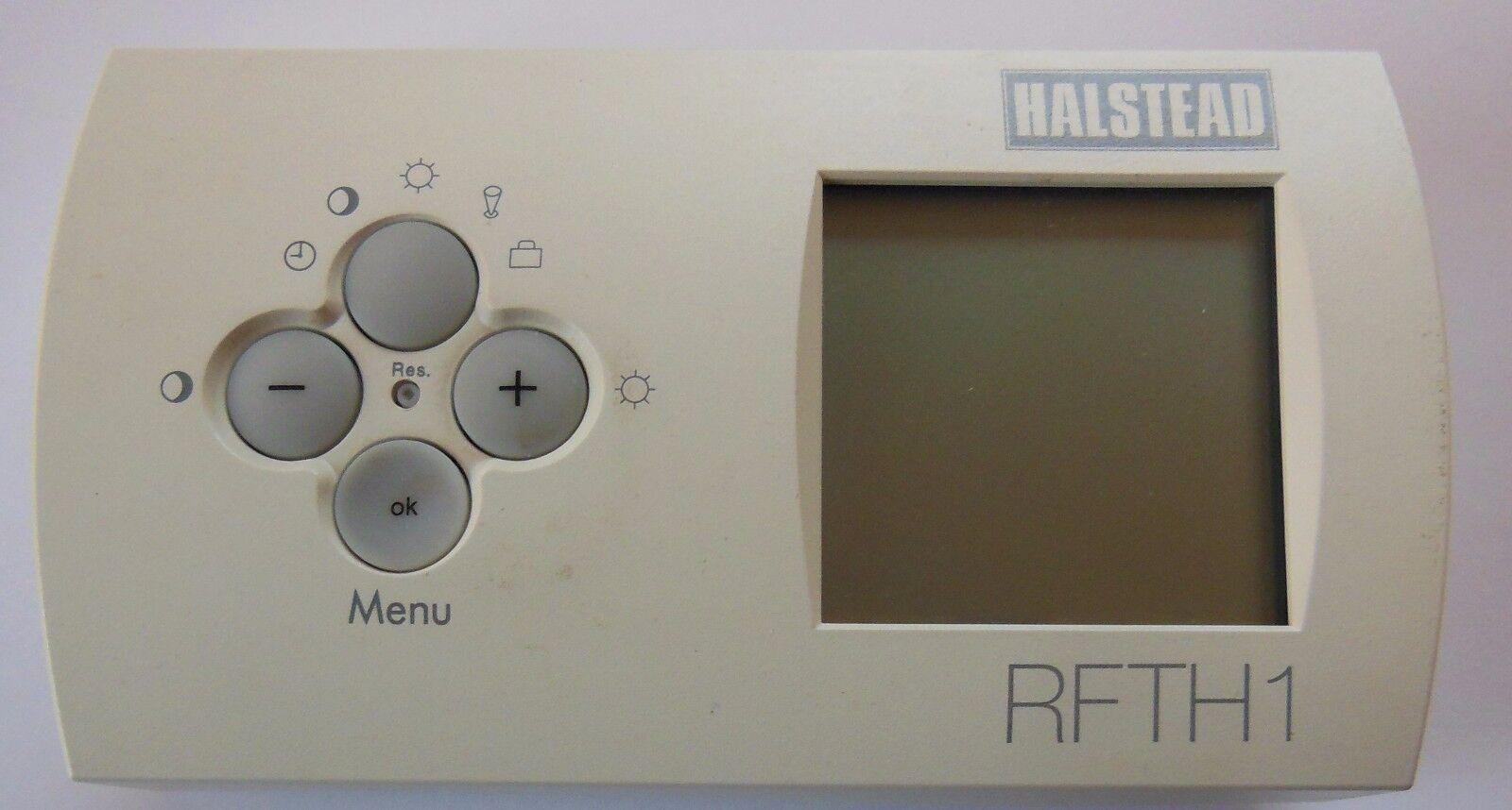 Halstead rfth1 Inalámbrico rf termostato digital FAMOSO 1000 RF 04.50.0010.6