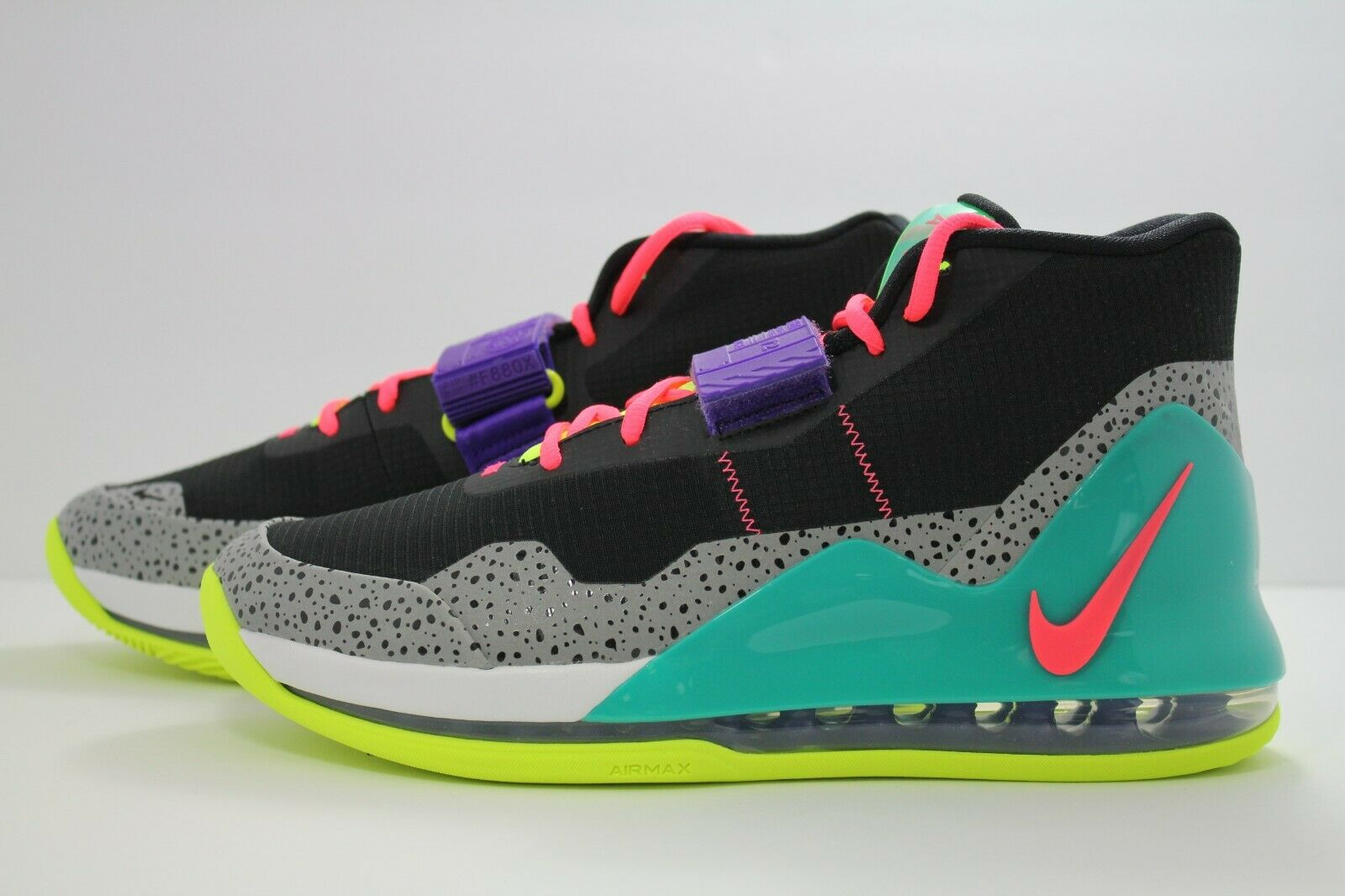 NIKE AIR FORCE MAX nero  HOT HOT HOT PUNCH-VOLT-NEW verde AR0974-005 16c980