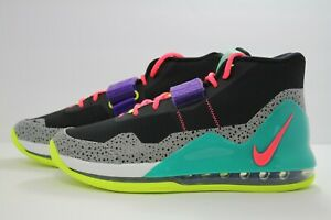 Details about NIKE AIR FORCE MAX BLACK HOT PUNCH VOLT NEW GREEN AR0974 005