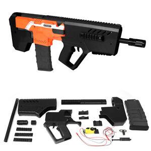 xsw 3d print bullpup rifle imitation auto strike kit for nerf stryfe