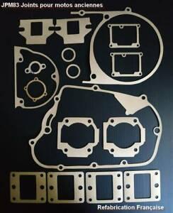 Pochette de joints pour YAMAHA 125 RD AS3 type 1975 arrivée d'huile sur cylindre