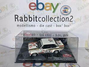 DIE-CAST-034-FIAT-ABARTH-131-RALLY-RALLYE-MONTE-CARLO-1981-D-CERRATO-034-SCALA-1-43