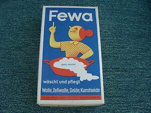 Original-FEWA-Waschmittel-D-R-P-Werke-Chemnitz-OVP-100g-Wie-Neu-RAR