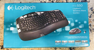 NEW-SEALED-LOGITECH-WIRELESS-WAVE-COMBO-MOUSE-AND-KEYBOARD-MK550