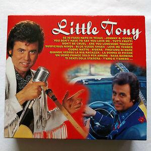 CD Musica Cofanetto 3 dischi Little Tony - Saar CDB 1981/3 - Italia - CD Musica Cofanetto 3 dischi Little Tony - Saar CDB 1981/3 - Italia