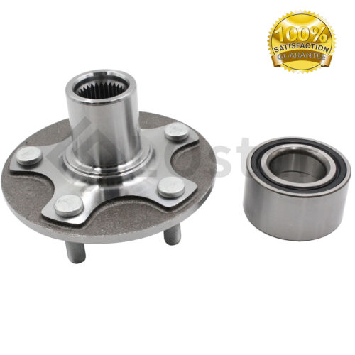 Front Wheel Hub /& Bearing Set Fits 93-02 Nissan Quest 97-02 Mercury villager