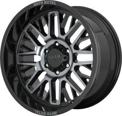 20x10 GRAY MOTO METAL 802 WARLOCK 2019-2021 LIFTED DODGE ...