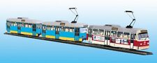 Straßenbahn Modell Kartonbausatz Tatra Reko-Großzug Chemnitz Maßstab 1:87 - H0