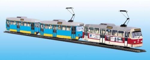 Tram modello Tram SCATOLA KIT Tatra rekogroßzug Chemnitz scala 1:87-h0