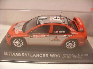 Voiture-IXO-ALTAYA-1-43-MITSUBISHI-LANCER-WRC-Rallye-de-Monte-Carlo-2004-NEUF