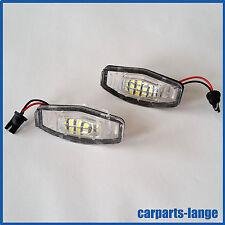 LED SMD SET Honda Kennzeichenbeleuchtung Kennzeichen Leuchte - TÜV FREI -