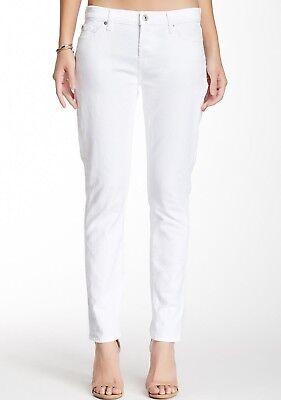 Intenzionale Nuova Con Etichetta 7 Per Tutti Sz26 Josefina Skinny-boyfriend Streth Jeans