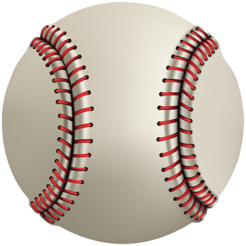 Baseball iron on transfert A4 A5 A6