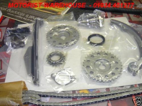 Para Nissan 200sx 2.0 Sr20de cadena de distribución Kt Con Engranajes