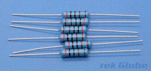 20pcs Metal Film Resistor 2W 1/% 100 ohm 100R 100Ω