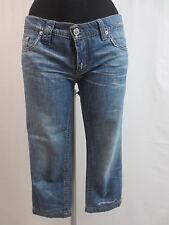 Versace Jeans Couture Caprijeans 3/4 Jeans It.28/42  Dt.38 Blau Schick TOP