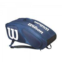 Wilson Tour Team Ii 12er Pack Blau Tennistasche Tennis Bag