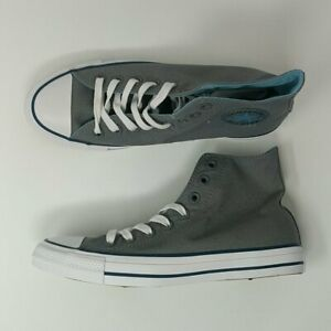 Converse-Chuck-Taylor-All-Star-Hi-Gray-Shoes-Size-8-New-162451F