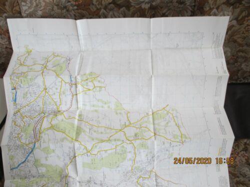 ORIGINAL LONDON CYCLE GUIDE NO.19 BIGGIN HILL FARNBOROUGH ETC MARCH 2002 VG
