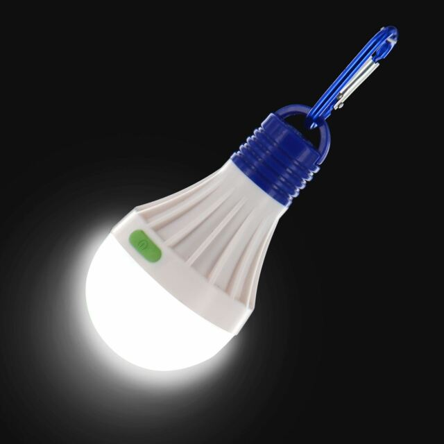 LED Camping Tent Light Bulb Outdoor Portable Hanging Fishing Lantern Lamp Torch