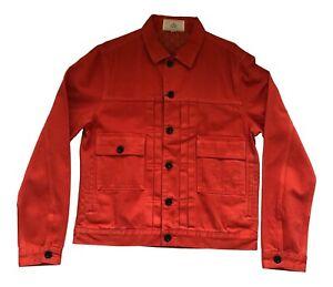 Paul Smith RED EAR Jacket RED Biker Jacket