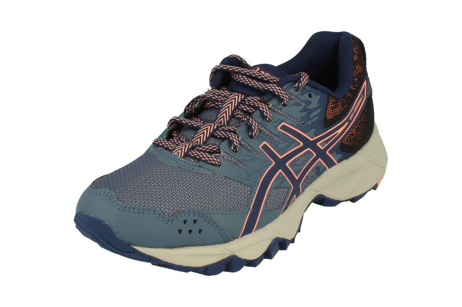 Asics Gel-Sonoma 3 Womens Running Trainers T774N Sneakers shoes 5649