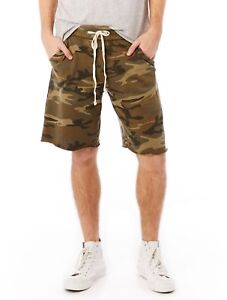 54bfe0774c Image is loading Alternative-Apparel-Victory-Printed-French-Terry-Shorts