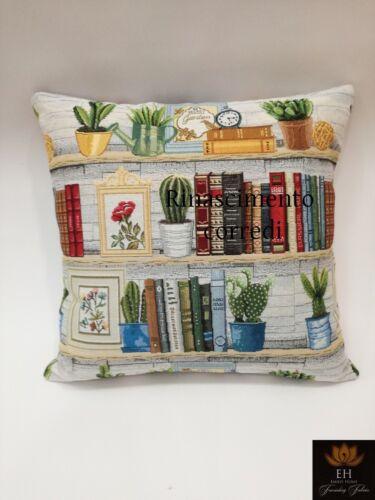 Lining Pillow Sofa Furniture 45x45 Gobelin Emily Home Cactus internal green
