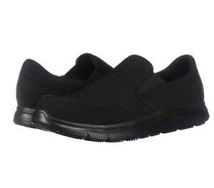 Skechers Mcallen Work Slip On Men's Shoes | DSW