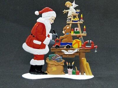 "WILHELM SCHWEIZER GERMAN ZINNFIGUREN Hurry Santa 2/"" X 3.75/"""