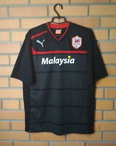 Cardiff City Jersey 2012 2013 Away LARGE Shirt Football Soccer Puma