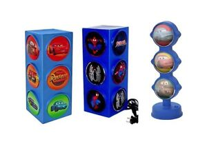 Image Is Loading Disney Cars And Spider Man Traffic Light Lamp