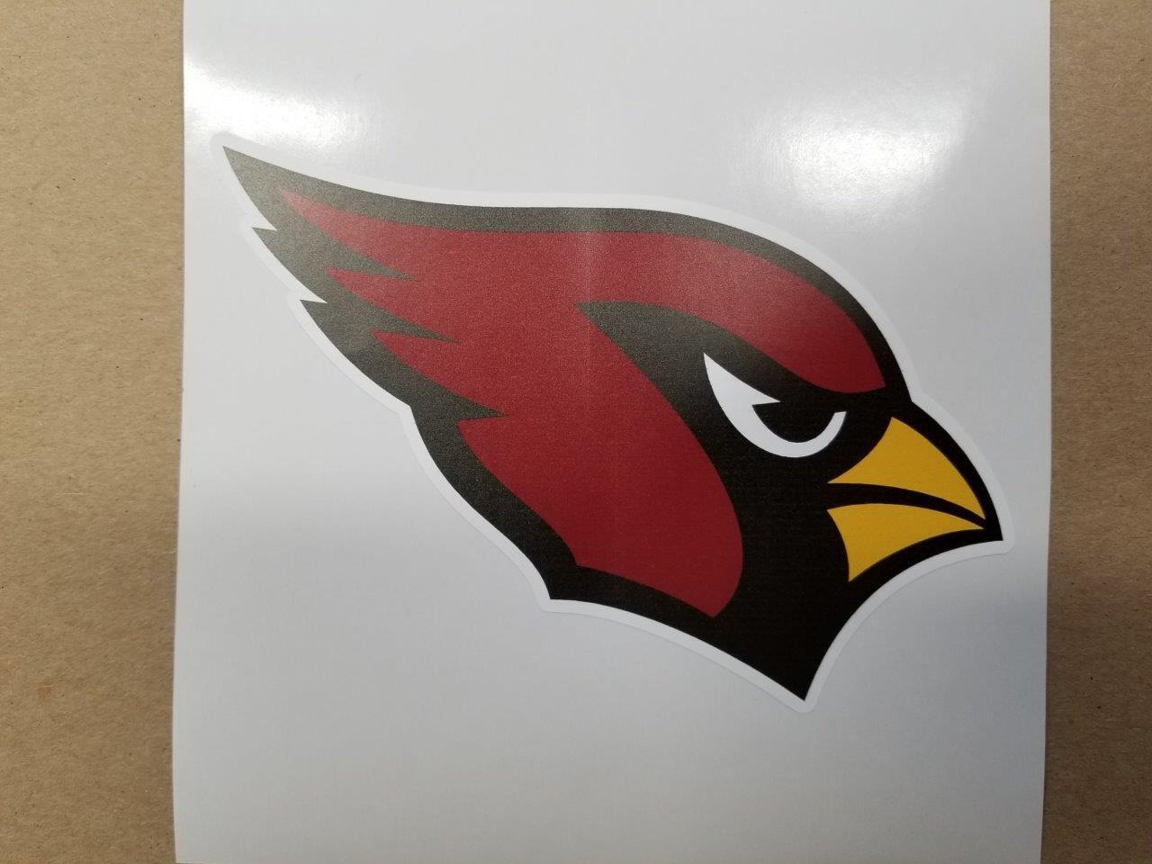 Arizona Cardinals   cornhole board or vehicle decal(s)AC2  free and fast delivery available