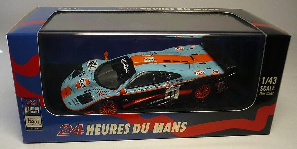 MCLAREN F1 GTR LE MANS 1997 1:43 IXO