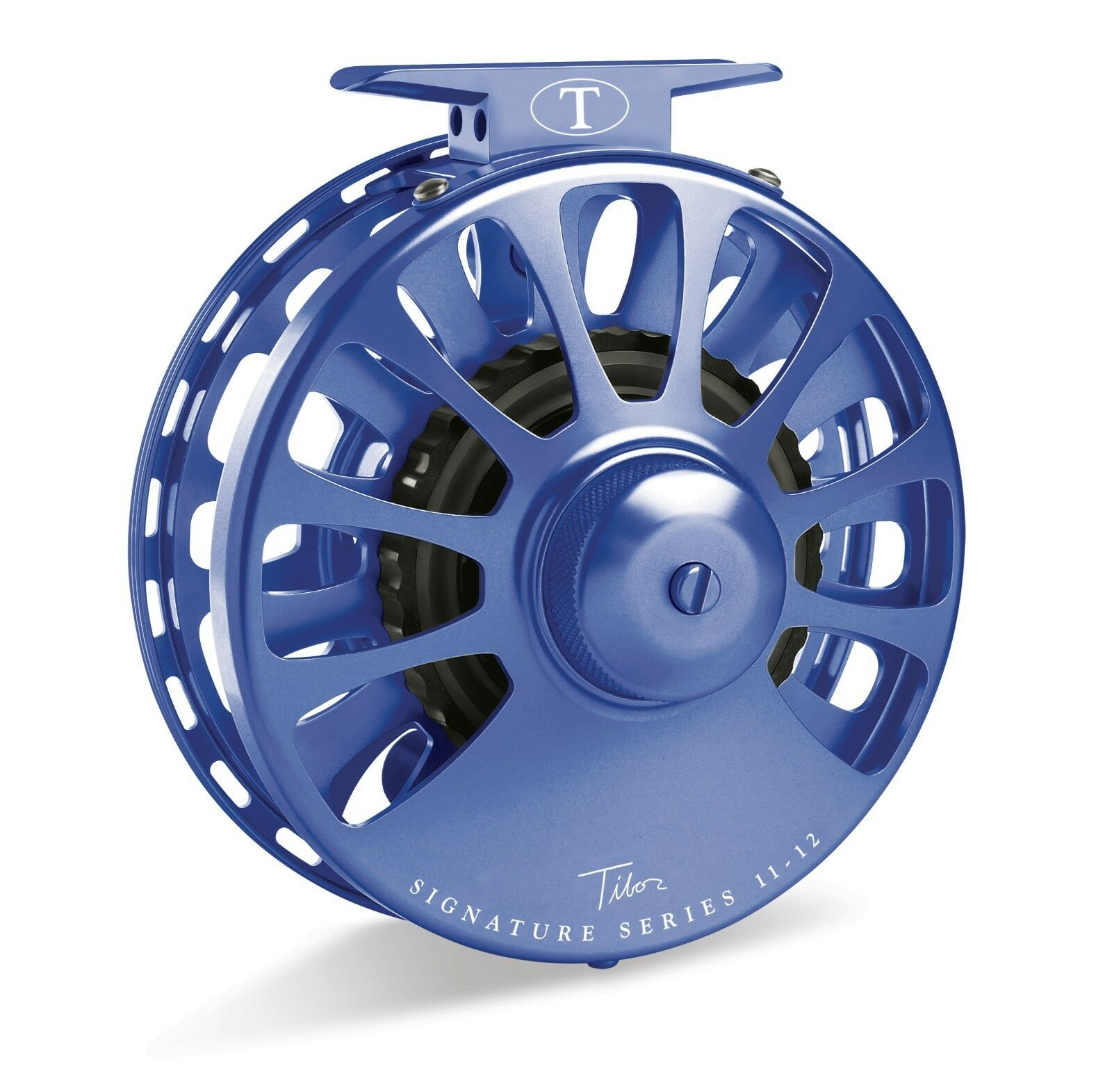 Tibor Signature Fly Reel, Size 5 6, Royal bluee, NEW   FREE FLY LINE