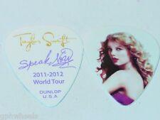 TAYLOR SWIFT ORIGINAL 2011 - 2012 SPEAK NOW TOUR #2 GUITAR PICK -NICE!
