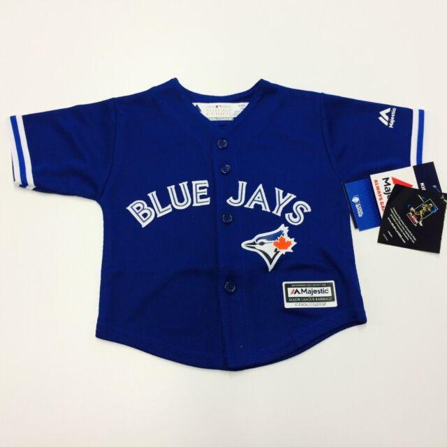 773d1a694 Majestic Toronto Blue Jays Josh Donaldson Official Cool Base Jersey - Royal