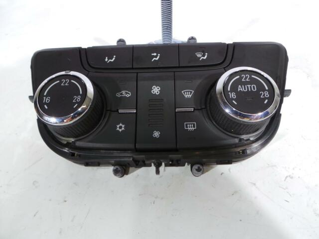 14 Vauxhall Mokka A/C Climatisation Chauffage Contrôle Boutons 13429880