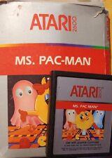 Ms. PAC-Man Atari VCS 2600 (módulo, embalaje-Good)