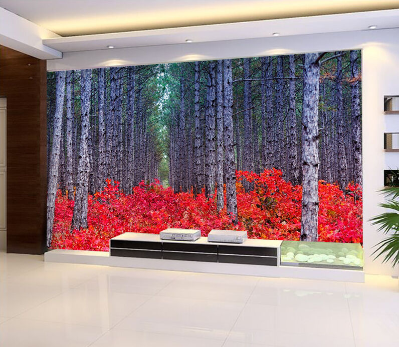 3D Forest Bright Plants 2312 Paper Wall Print Wall Decal Wall Deco Indoor Murals
